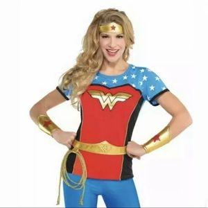 4 Piece set Adult Wonder Woman Costume Accessories